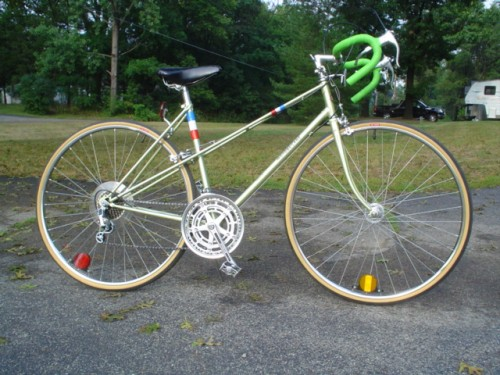 Mint Green Motobecane Mixte