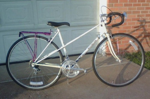 Early 80s Motobecane mixte.