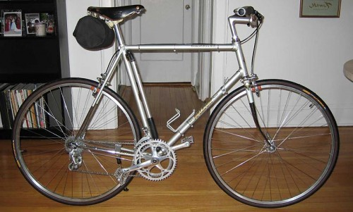Highly modified 1978 Raleigh Competition GS