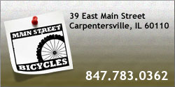 1. Main Street Bicycles