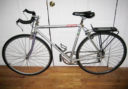 Deborah's Circa 1989 Ross 10-Speed