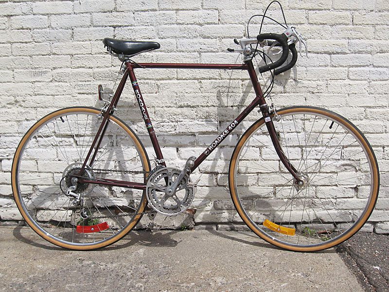 Maruishi Road Bike http://oldtenspeedgallery.com/for-sale/re-cycle-com-brings-lbs-ownership-to-the-masses/