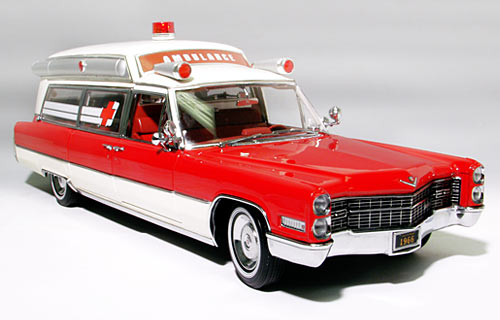 66 Cadillac Ambulance