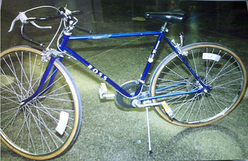 Ross 10-speed from Times Square bombing