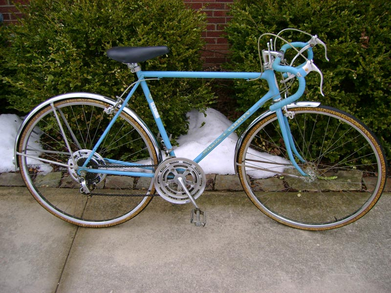 Fendered and Fine 1973 Schwinn Varsity