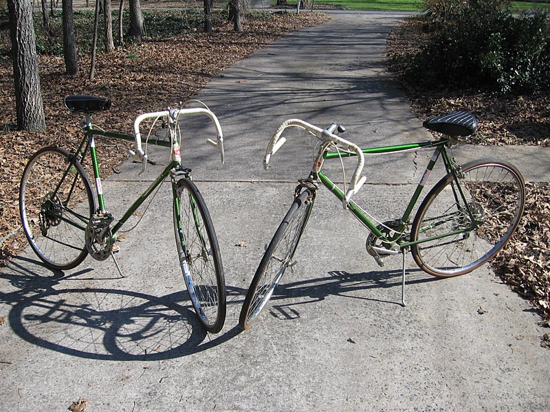 A Pair of Rollfast Super De Luxe