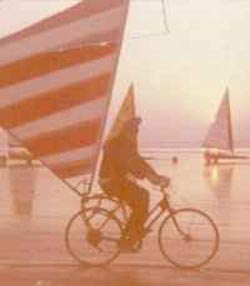 Land-Sail Cycling