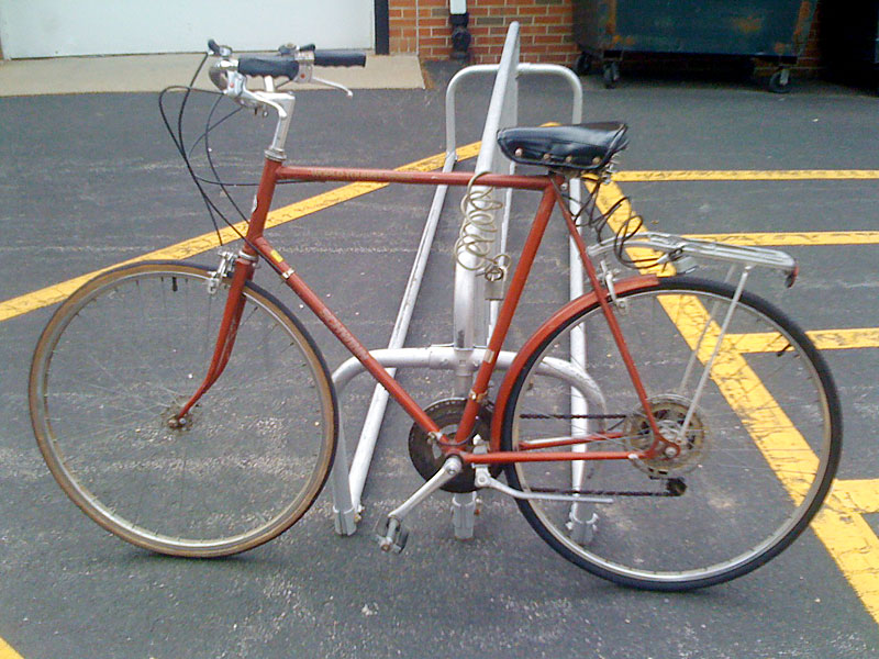 Street Seen Schwinn World Tourist Errand Bike Old Ten Speed Gallery